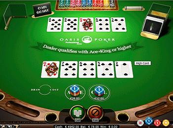 покер оазис онлайн бесплатно